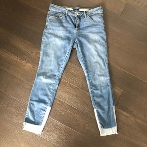 💙Pilcro and the Letterpress Denim NWOT